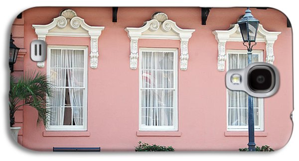 Charleston Historical District - The Mills House - Charleston Architecture  Galaxy S4 Case by Kathy Fornal