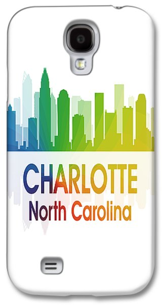 Charlotte Nc 1 Vertical Galaxy S4 Case by Angelina Vick