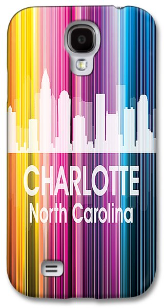 Charlotte Nc 2 Vertical Galaxy S4 Case by Angelina Vick