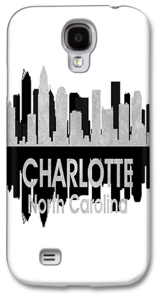 Charlotte Nc 4 Vertical Galaxy S4 Case by Angelina Vick