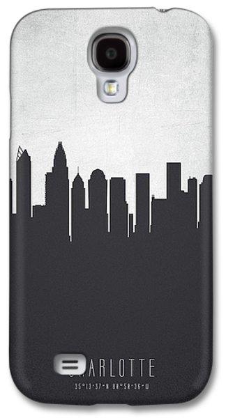 Charlotte North Carolina Cityscape 19 Galaxy S4 Case by Aged Pixel
