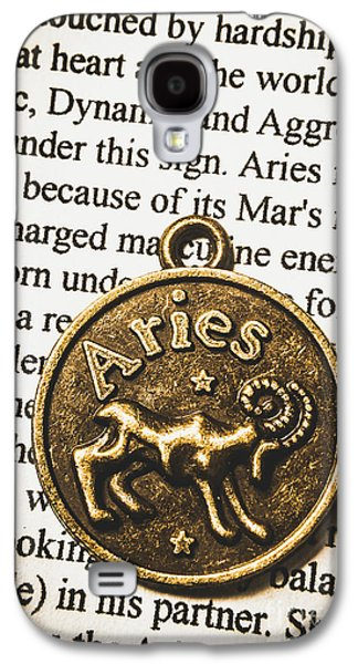 Charm Of Aries Galaxy S4 Case
