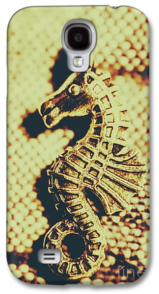 Seahorse Galaxy S4 Case - Charming Vintage Seahorse by Jorgo Photography - Wall Art Gallery