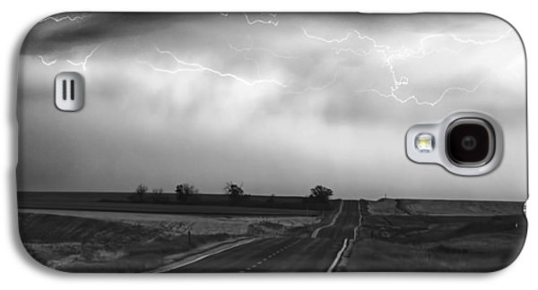 Chasing The Storm - County Rd 95 And Highway 52 - Colorado Galaxy S4 Case by James BO  Insogna