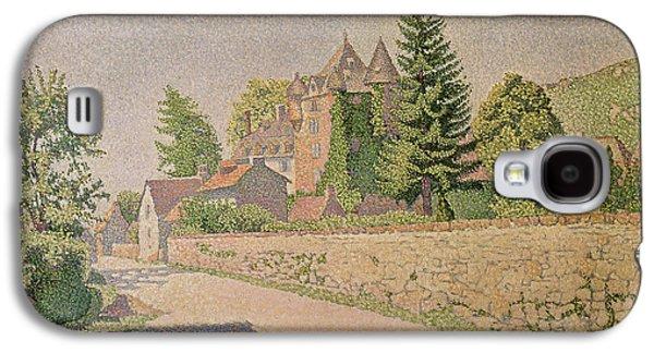 Chateau De Comblat Galaxy S4 Case by Paul Signac
