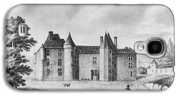 Chateau De Montaigne Galaxy S4 Case