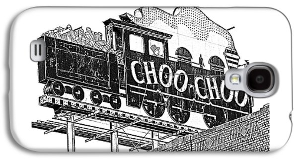 Chattanooga Choo Choo Sign In Black And White Galaxy S4 Case by Marian Bell