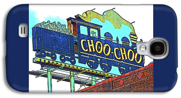 Chattanooga Choo Choo Sign On A Sunny Day Galaxy S4 Case by Marian Bell