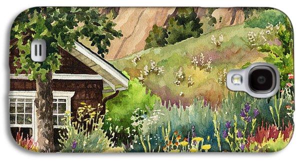 Chautauqua Cottage Galaxy S4 Case by Anne Gifford