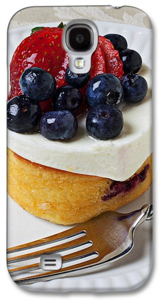 Cheese Cream Cake With Fruit Galaxy S4 Case