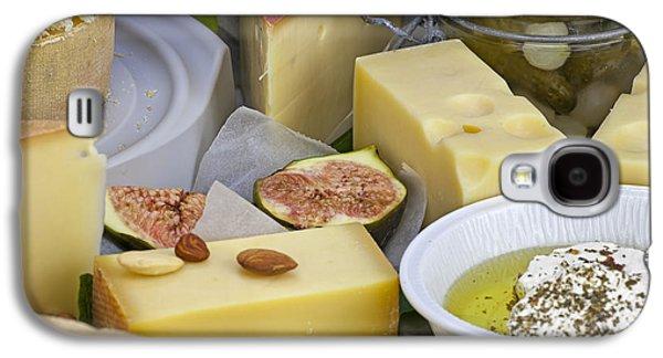 Cheese Plate Galaxy S4 Case by Joana Kruse
