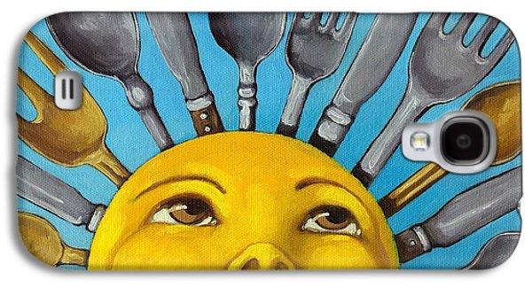 Chefs Delight - Cbs Sunday Morning Sun Art  Galaxy S4 Case