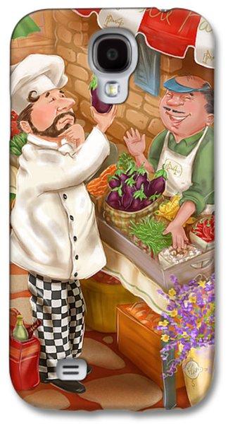 Chefs Go To Market I Galaxy S4 Case