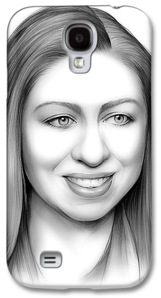 Chelsea Clinton Galaxy S4 Case