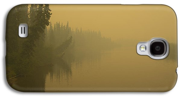 Galaxy S4 Case featuring the photograph Chena River by Gary Lengyel