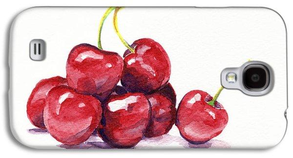 Cherries Galaxy S4 Case by Michelle Sheppard