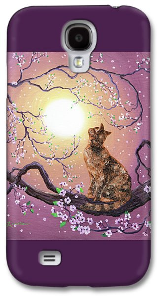 Cherry Blossom Waltz  Galaxy S4 Case by Laura Iverson