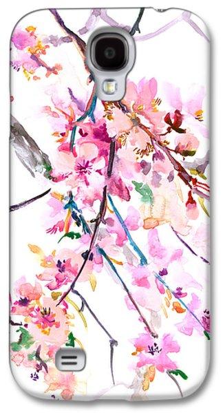 Cherry Blossom, Washington Dc Galaxy S4 Case by Suren Nersisyan