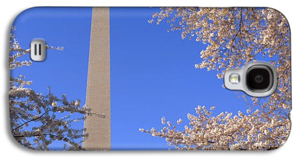 Cherry Blossoms And Washington Galaxy S4 Case by Panoramic Images