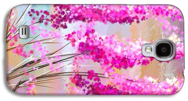 Cherry Blossoms Impressionist Galaxy S4 Case