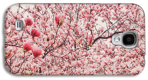 Cherry Blossoms Galaxy S4 Case by Vivienne Gucwa