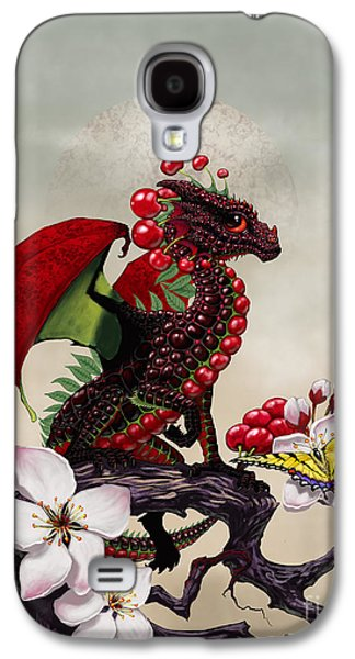 Cherry Dragon Galaxy S4 Case by Stanley Morrison