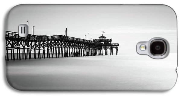 Cherry Grove Fishing Pier Galaxy S4 Case by Ivo Kerssemakers
