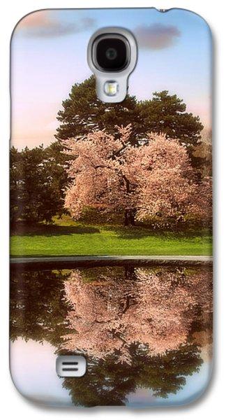 Cherry Tree Fountain  Galaxy S4 Case by Jessica Jenney