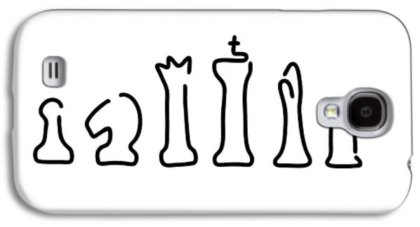 Chess Figures Galaxy S4 Case by Lineamentum