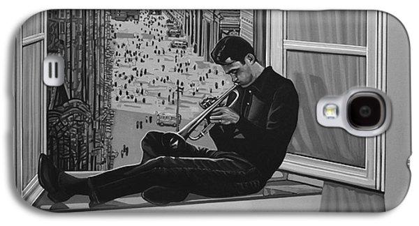 Jazz Galaxy S4 Case - Chet Baker by Paul Meijering