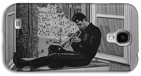 Chet Baker Galaxy S4 Case by Paul Meijering