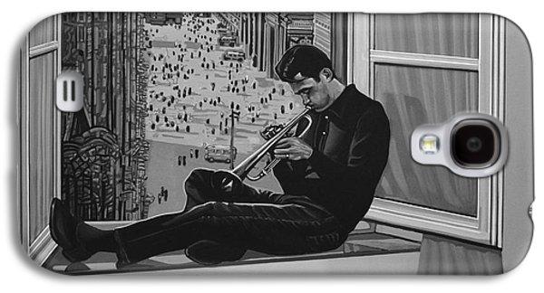 Trumpet Galaxy S4 Case - Chet Baker by Paul Meijering