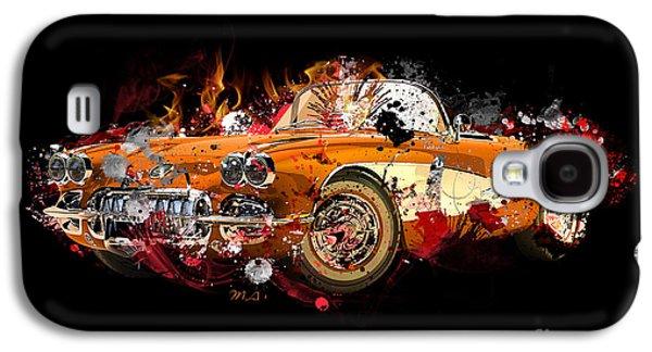 Chevrolet 2 Galaxy S4 Case by Mark Ashkenazi