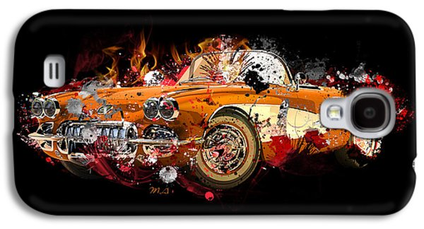 Chevrolet 2 Galaxy S4 Case by Mark Ashkenazi