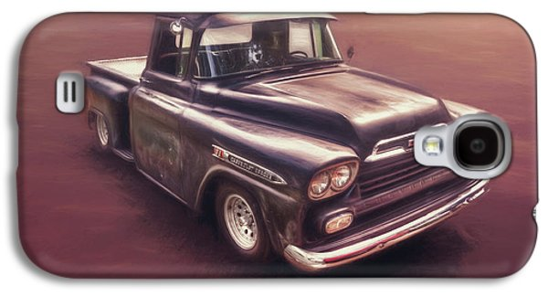Truck Galaxy S4 Case - Chevrolet Apache Pickup by Scott Norris
