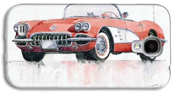 Chevrolet Corvette C1 1960  Galaxy S4 Case