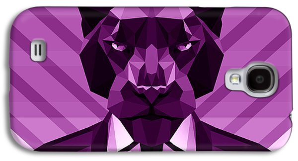 Chevron Panther Galaxy S4 Case by Gallini Design
