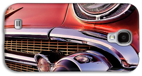 Chevy Bel Air Grille And Bumper Detail Galaxy S4 Case