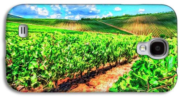 Chianti Vineyard In Tuscany Galaxy S4 Case