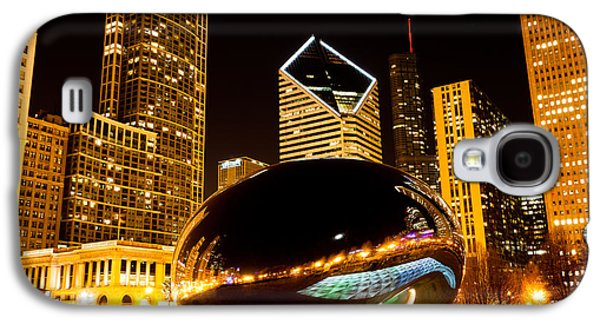 Chicago Bean Cloud Gate At Night Galaxy S4 Case