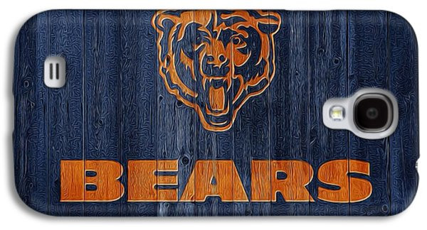 Chicago Bears Barn Door Galaxy S4 Case by Dan Sproul