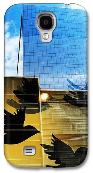 Chicago Birds Galaxy S4 Case by Todd Sherlock