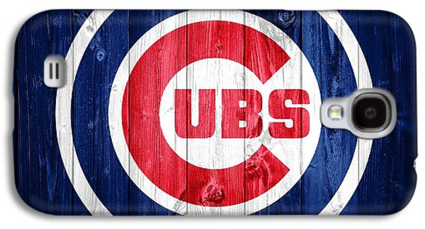Chicago Cubs Barn Door Galaxy S4 Case