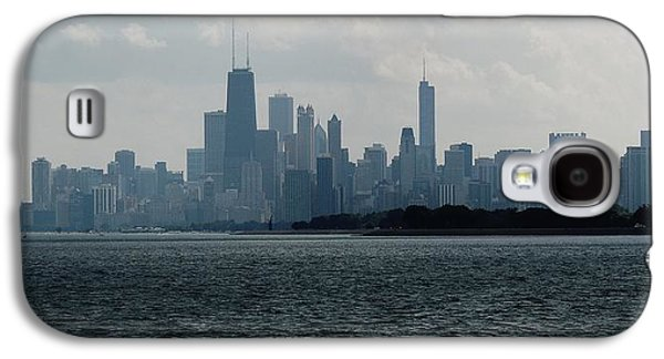 Chicago From Belmont Harbor Galaxy S4 Case by Todd Sherlock