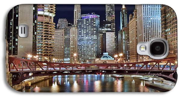 Chicago Full City View Galaxy S4 Case