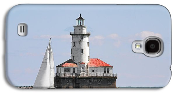 Chicago Harbor Lighthouse Galaxy S4 Case