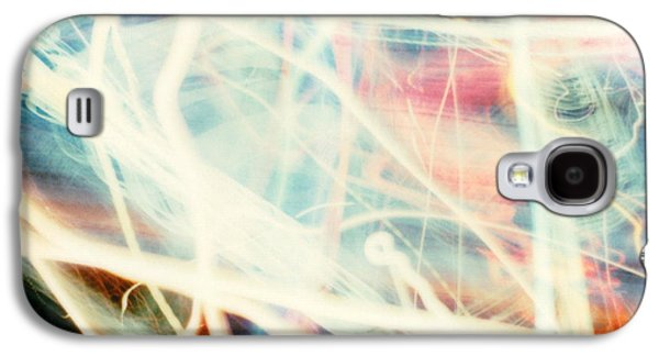 Photo Manipulation Pastels Galaxy S4 Cases - Chicago lights 1 Galaxy S4 Case by JC Armbruster