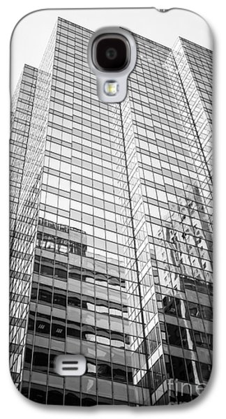 Chicago Office Building  Black And White Photo Galaxy S4 Case by Paul Velgos