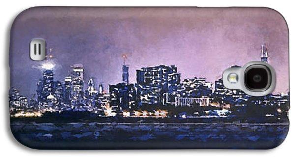 Chicago Skyline From Evanston Galaxy S4 Case by Scott Norris