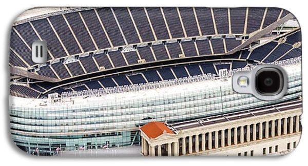 Chicago Soldier Field Aerial Photo Galaxy S4 Case by Paul Velgos
